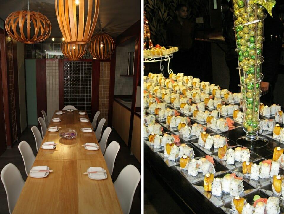 Ikebana Sushi Bar VIP Room Catering Dorado Carolina Guaynabo Puerto Rico