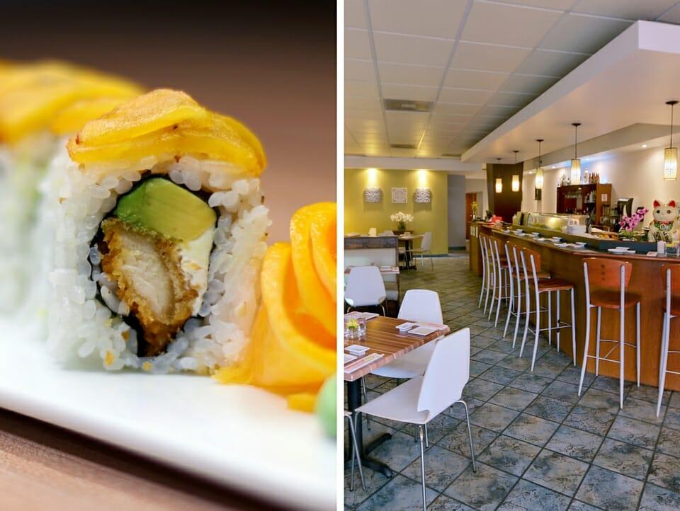 Ikebana Sushi Bar Creative Rolls Dorado Carolina Guaynabo Puerto Rico