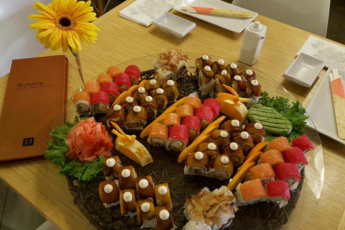 Ikebana Sushi Bars Japanese Restaurants Dorado Carolina Guaynabo Puerto Rico