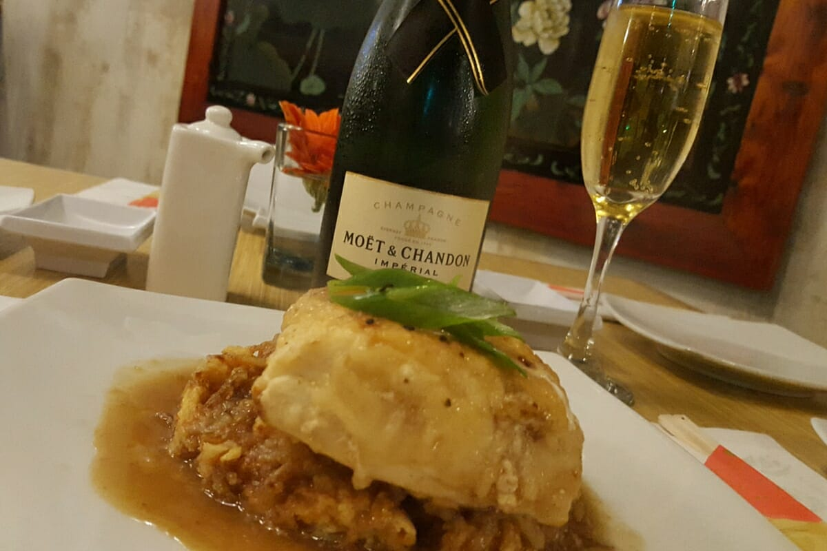 Ikebana Sushi Bars Puerto Rico | Cod | Moet Chandon Brut Imperial