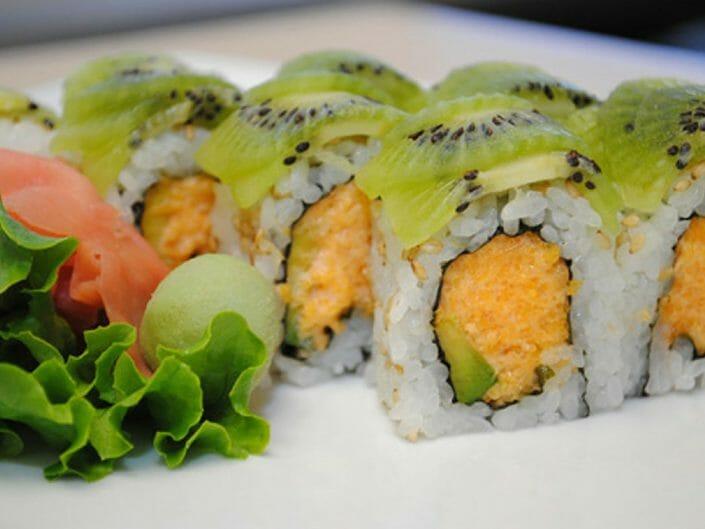 Ikebana Emerald Sushi Roll | history