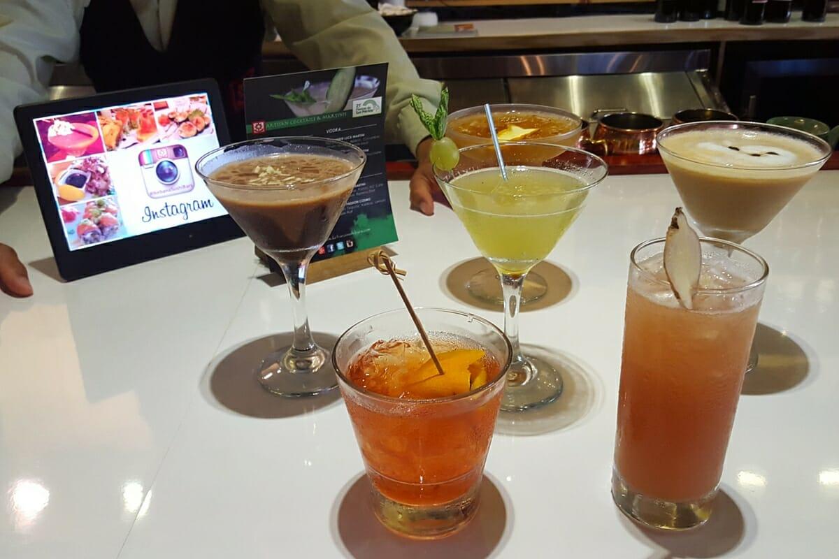 St Patrick's Cocktails