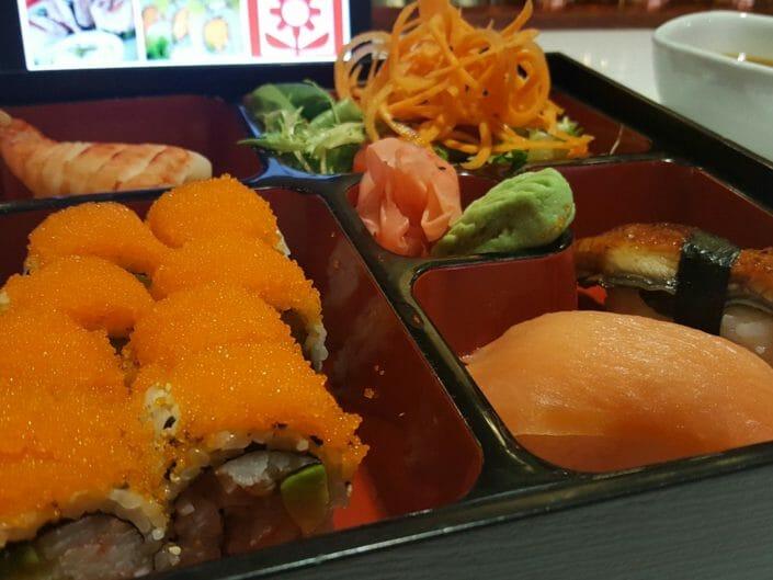 Ikebana Sushi Bars Bento Box Lunch Dorado Carolina Guaynabo Puerto Rico