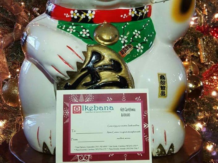 Ikebana Sushi Bars Gift Cards Carolina Dorado Guaynabo