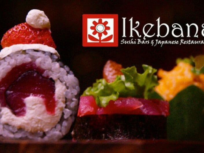 Ikebana Sushi Bars Merry Sushi Christmas Guaynabo Puerto Rico