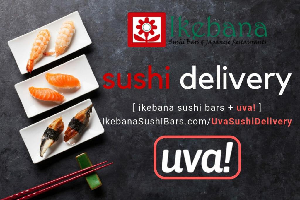 Ikebana Sushi Bar UVA Food Delivery Guaynabo Puerto Rico