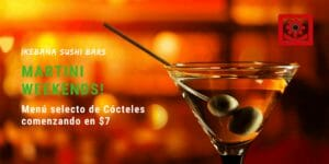 Martini Weekends Ikebana Sushi Bar Guaynabo