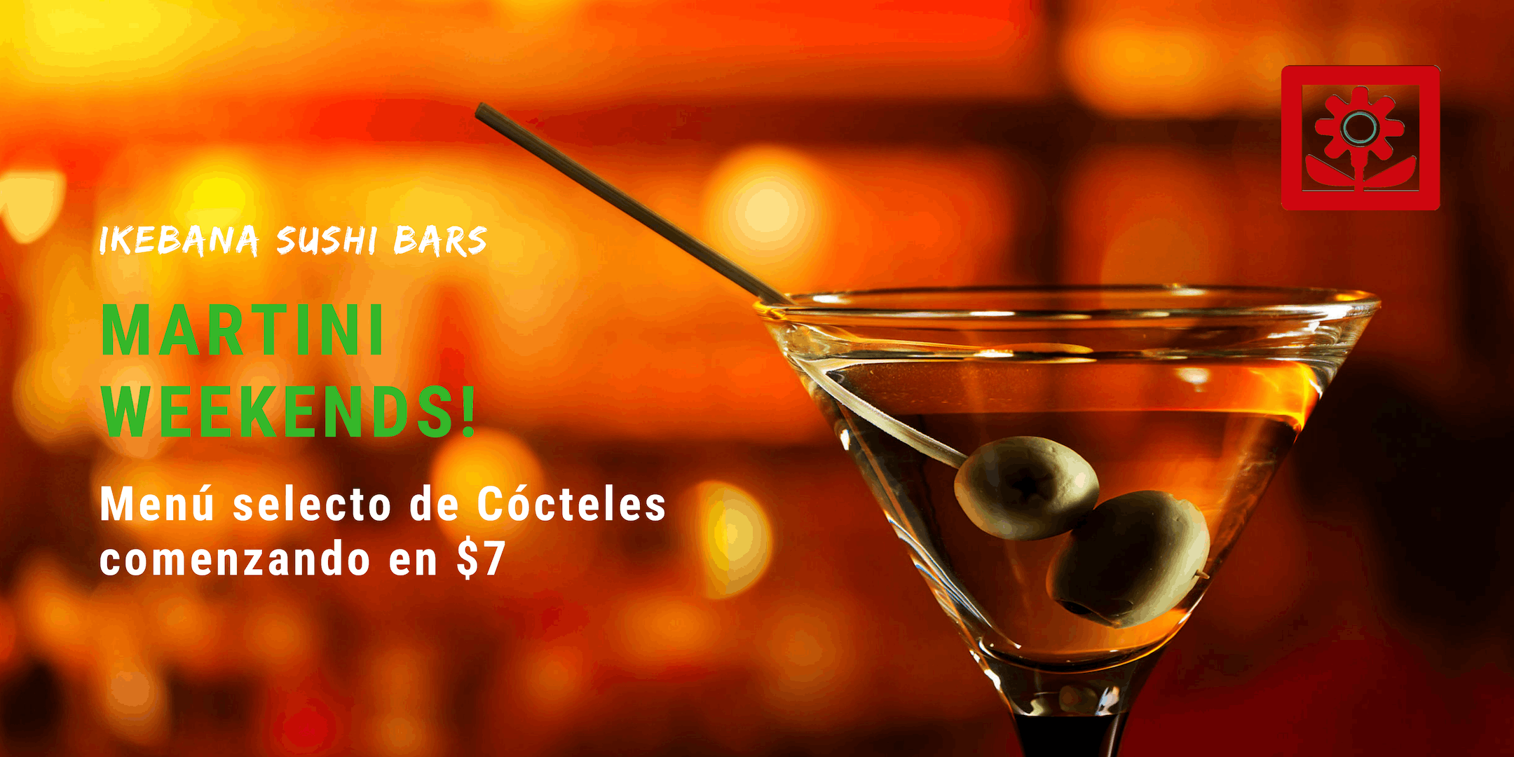 Martini Weekends Ikebana Sushi Bar Guaynabo