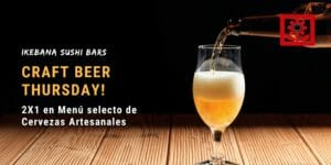 Craft Beer Thursdays Ikebana Sushi Bar Guaynabo